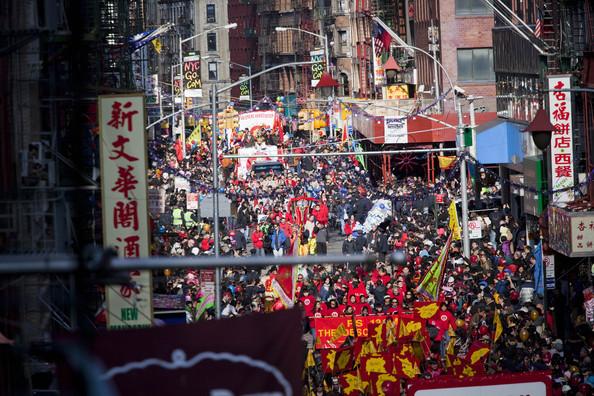 NYC Mott Street Parade