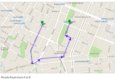 new york chinese new year parade route